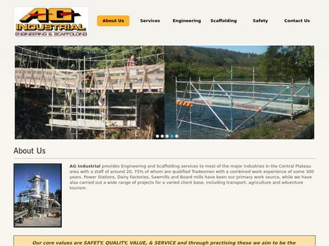 Qualified Scaffold, Engineer | Machining, Welding, Manufacture | Taupo, Central, Plateau.
