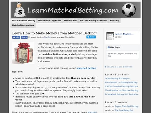 Learn Matched Betting | How to Make Money From Free Bets