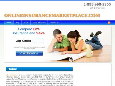 Online Insurance Marketplace