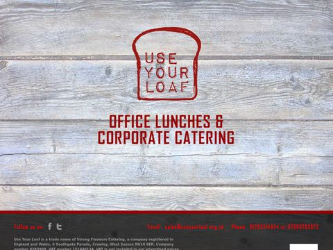 Office and corporate catering - Use Your Loaf