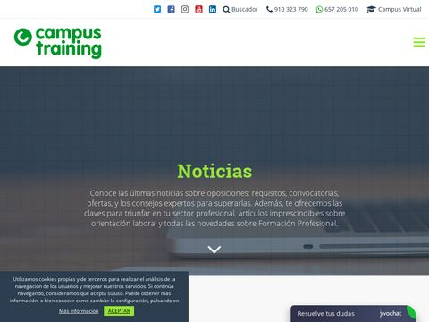 Campus Training - news about education and trainings