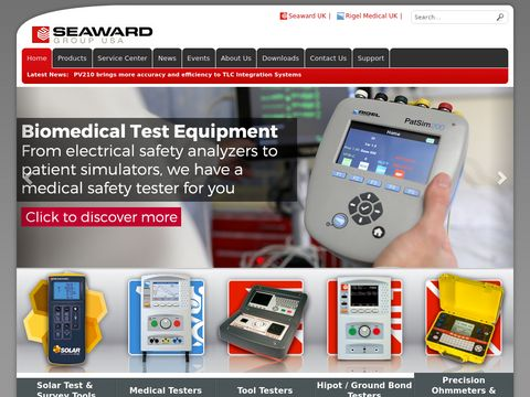Portable Appliance Testers - Voltage Tester - HIPOT - Seaward USA
