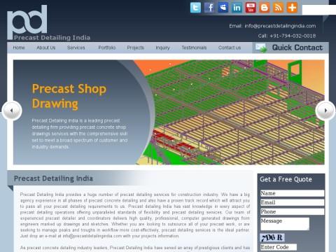 Precast Detailing| Precast Concrete Detailing|