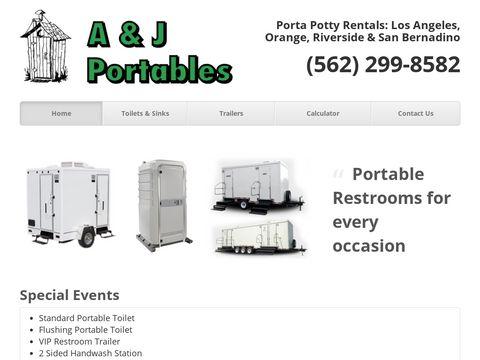 A & J Portable toilet rentals