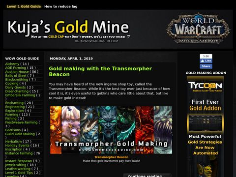 How to make gold in World of Warcraft
