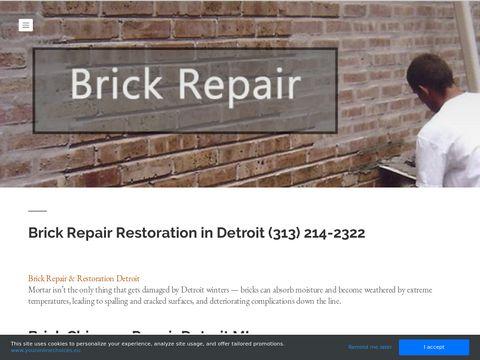 Brick Repair in Detroit