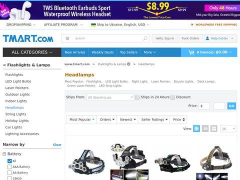 head lamp, led headlamp, Buy Best Headlamps - Tmart