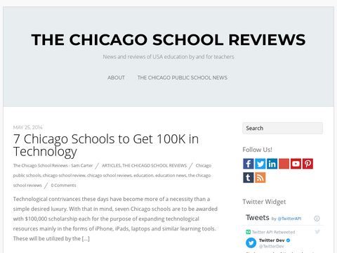 The Chicago School Reviews