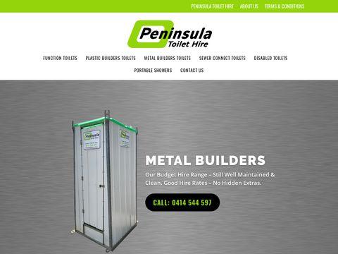 Portable, Building Toilet Hire   Portaloos for Parties, Events   Victoria