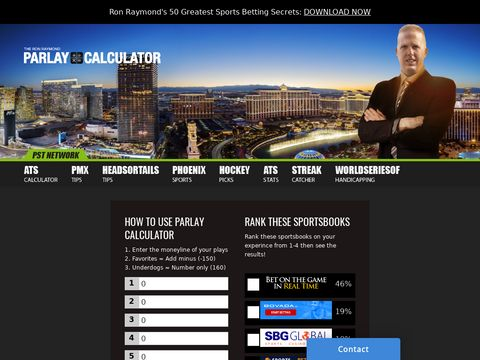 Parlay calculator - Place a Parlay formula Bet With a Win