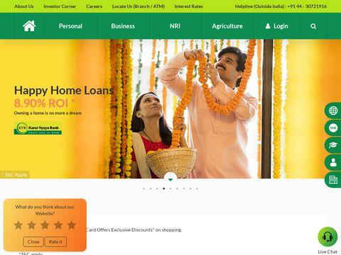 Multi City Current Account - Karur Vysya Bank