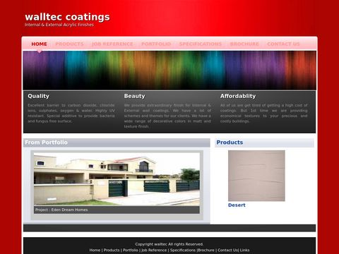walltec | Internal&External | Texture coating |