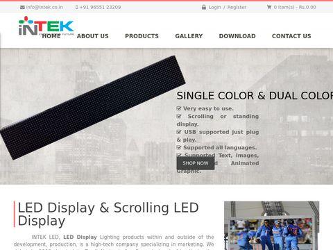 Outdoor LED Display | Intek