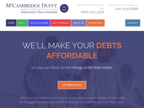 Welcome to McCambridge Duffy - Financial help specialists