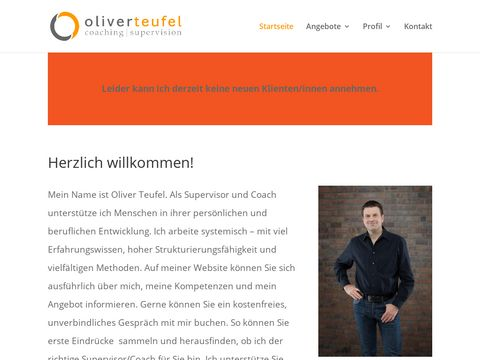 Oliver Teufel - Coaching & Supervision