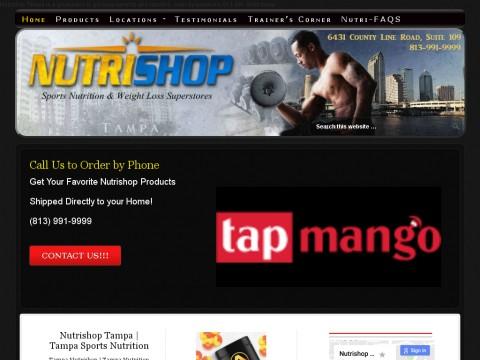 Nutrishop Tampa FL | Sports Nutrition | Health Supplements