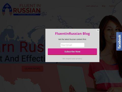 FluentinRussian