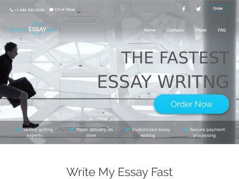 Write My Essay Today