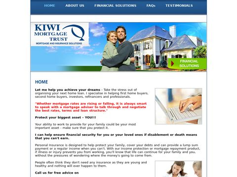 Financial, Adviser In Auckland | Mortgage Brokers, Manukau | Howick, Kiwi Mortgage Trust