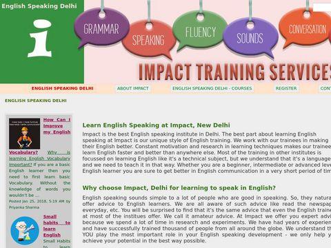 English Speaking Delhi