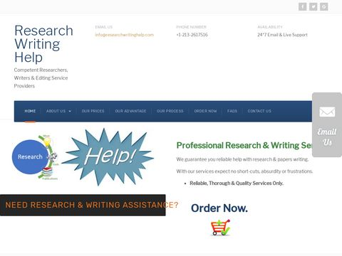 Research Writing Help | Research Papers Writing Help