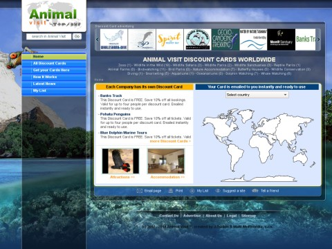 where to find and visit animals around the world