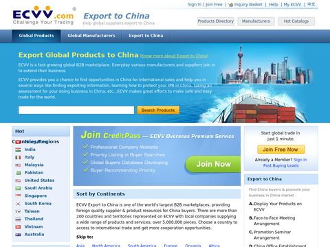 Global Products Sourcing Global Manufacturers