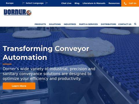 Industrial Conveyor System | Dorner Conveyors