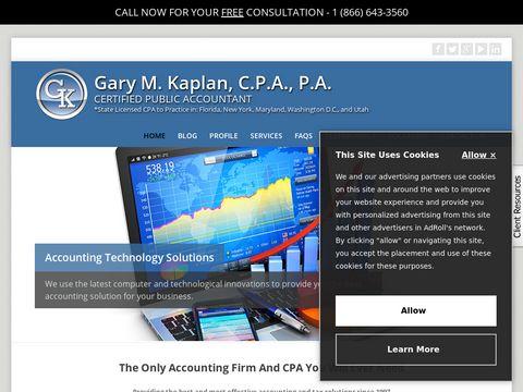 Gary M. Kaplan, C.P.A., P.A.