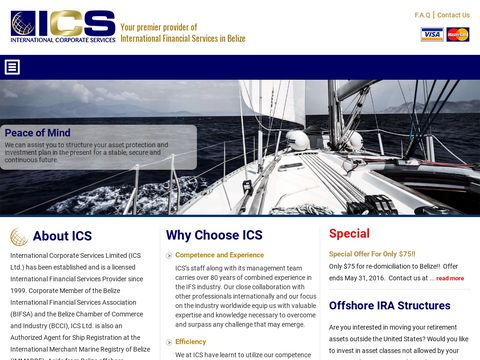 Offshore Company Formation, Belize Offshore Companies, Belize Ibc - International Corporate Services