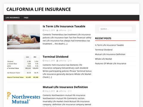 California Term Life Insurance | California Insurance Compan