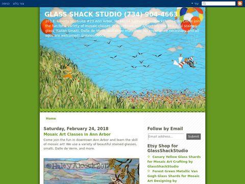 Glass Shack Studio mosaics and supplies