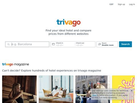 trivago - hotel reviews and travelguide
