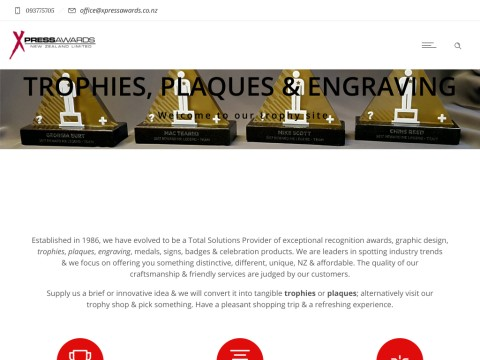 Xpress Awards & Trophies NZ