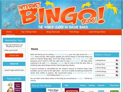 Internet Bingo Blog