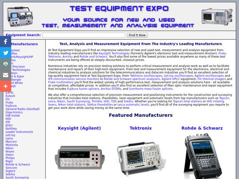 Test Equipment Expo