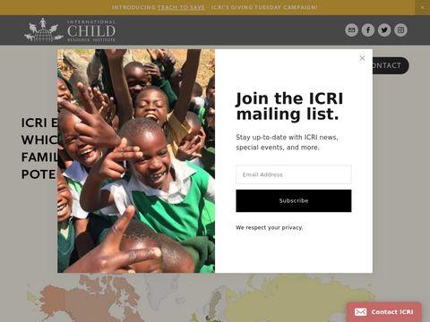 International Child Resource Institute