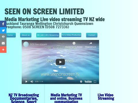 TV & Media Creation | Media Marketing | New Zealand South Pacific Production Company