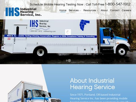 Industrial Hearing Testing Services - OSHA Hearing Consevation Program