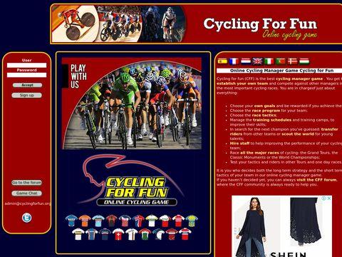 Cyclingforfun - Cycling game