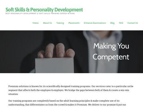 Soft Skills Training and Personality Development