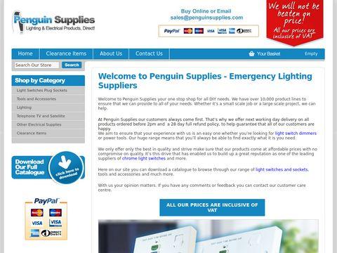 Penguin Supplies