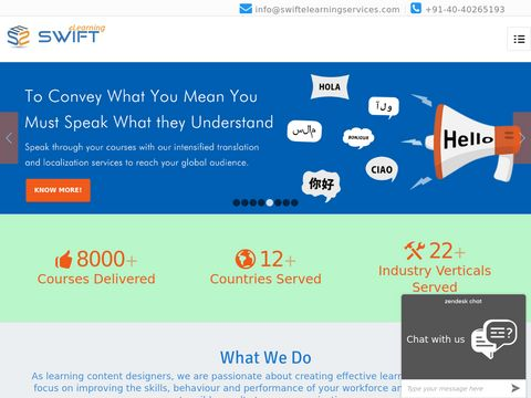 Top eLearning Software Solutions companies India, Swift Elearning
