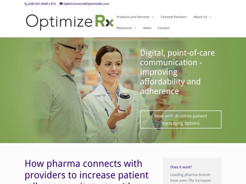 OptimizeRx - Putting the patient first