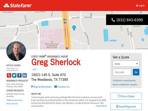 Greg Sherlock - State Farm Insurance Agent