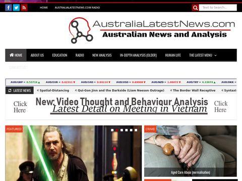 AustraliaLatestNews.com - Australian News Analysis