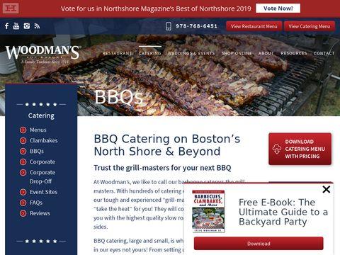 Bbq catering Massachusetts