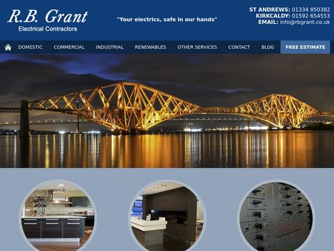 RB Grant , Electrician in Fife , Scotland