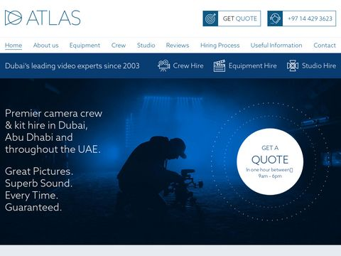Atlas Television - Kit Hire   Camera Crews UAE