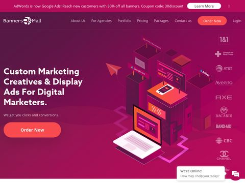 Ideal place to get all web banner designs – HTML5 & Animated